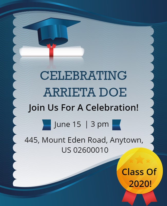 Graduation Or Farewell Party