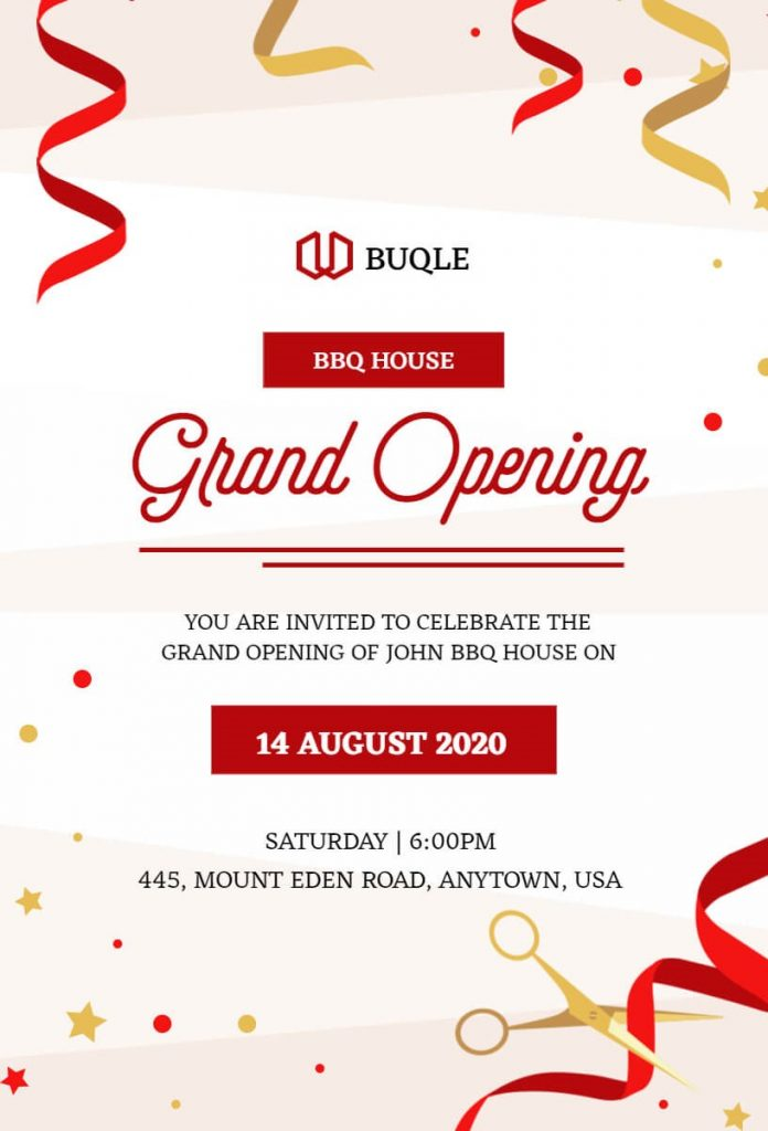 Grand Openings And Launches